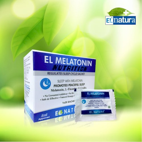 EL- MELATONIN Nutrition Pack of 20 Sachet