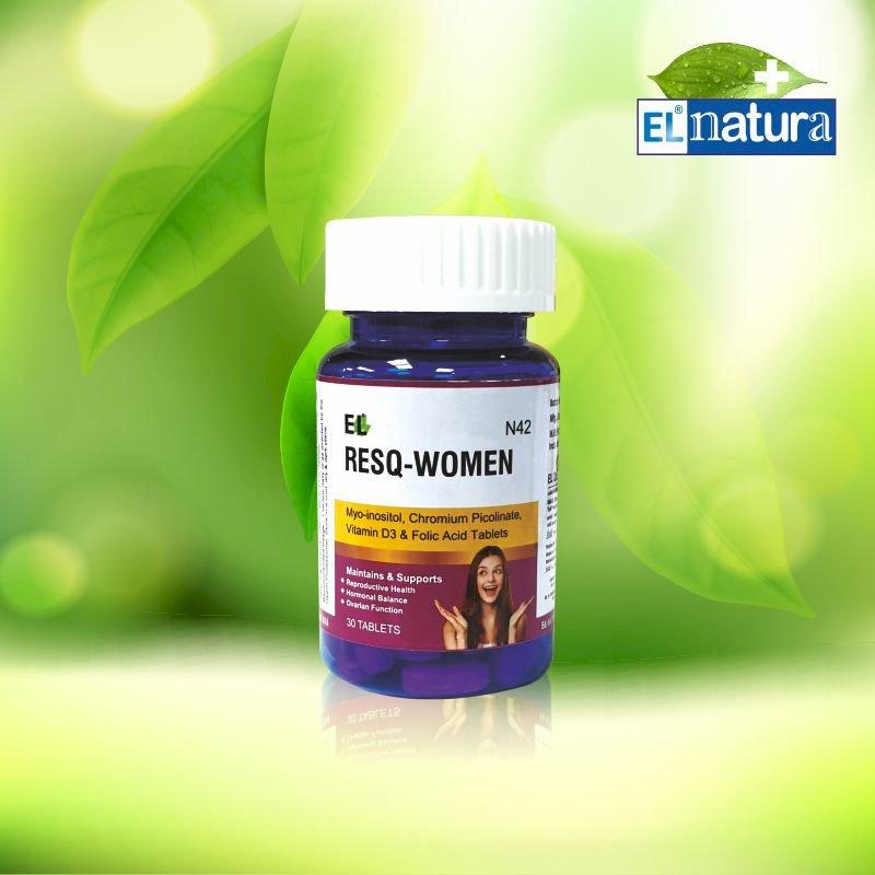 EL- RES Q WOMEN- N 42- Pack of 30 tablets