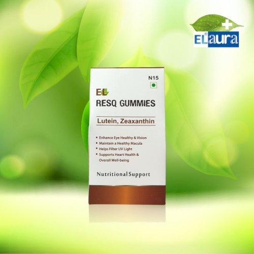 EL- RESQ-GUMMIES LUTEIN,ZEAXANTHIN- N 15- Pack of 30 chew-able gummies
